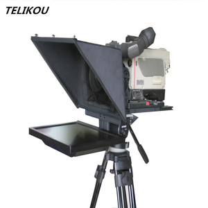 TELIKOU Professional LCO Studio Teleprompter for Announcer Television , Radiobroadcaster announcer