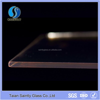 4mm tempered color glass with ISO certification