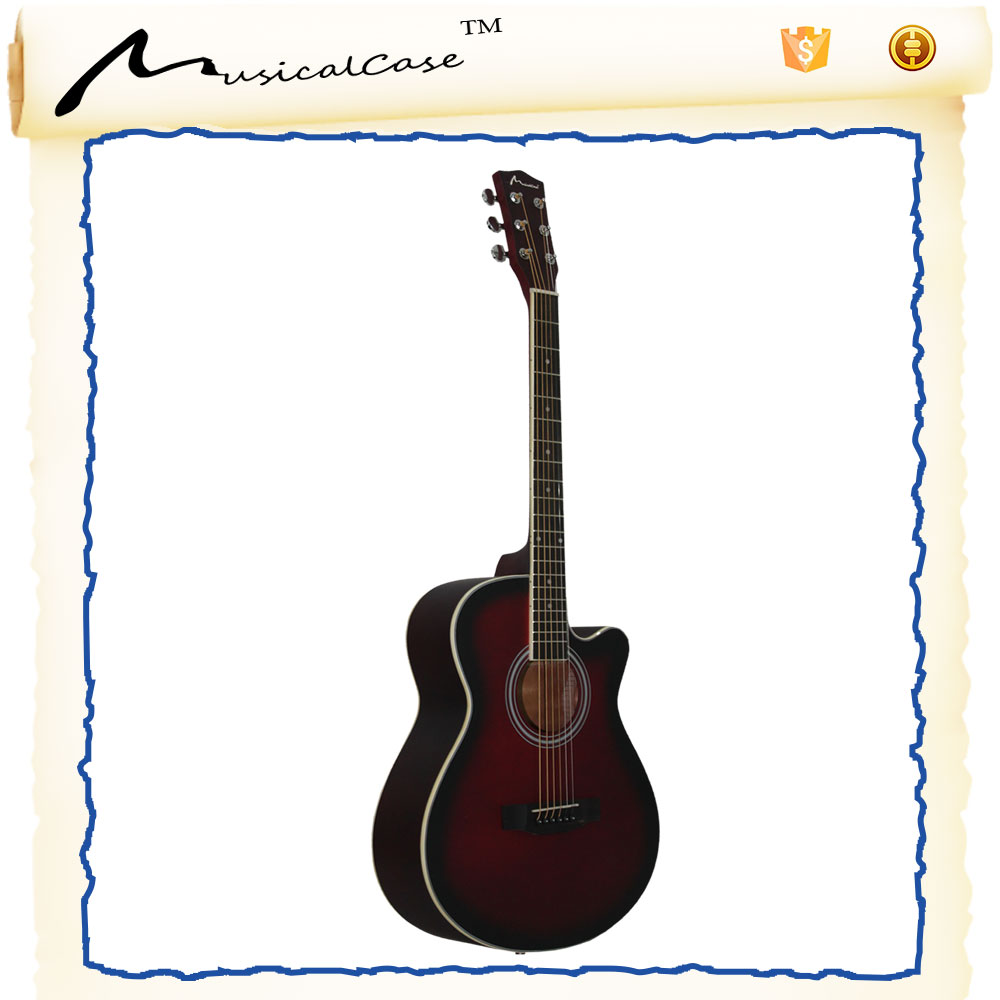 Best design rosewood left handed jazz guitar