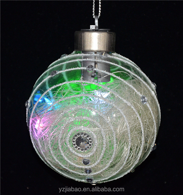 New christmas gift and craft clear glass ball with wishful