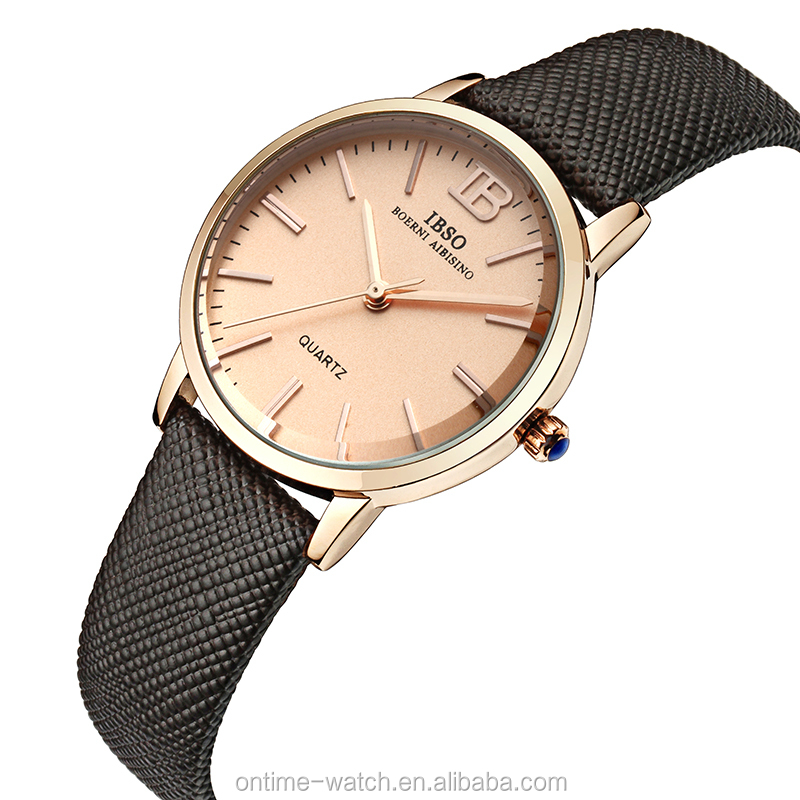 IBSO wholesale watches made in china ladies fashion watches latest