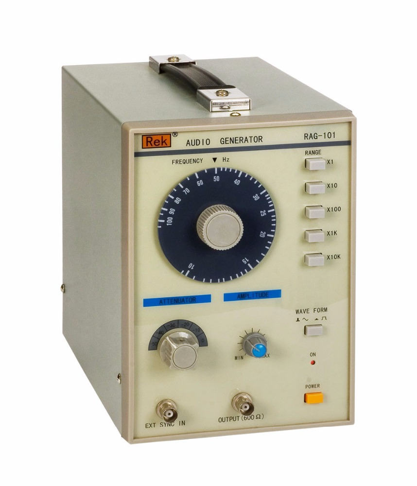 Low Frequency Signal Generator RAG101 Audio Signal Producer,10 to 1Mhz Audio Generator Function Signal