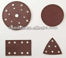 aluminum oxide 150mm hook and loop fastener backing pads for car polishing