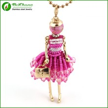 HOT French Doll Necklaces pendant collar
