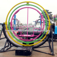 Outdoor human gyroscope rides for sale