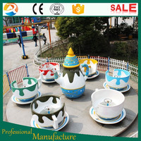 Neweast Theme park Amusement Equipment exciting fiberglass coffee cup ride