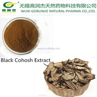 100% Natural Black Cohosh Extract powder/ Cimicifuga foetida L/snake root extract