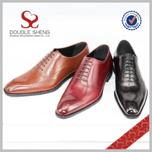 Manufacturer Supplier pure manual genuine leather outsole pint-tipped shoes man