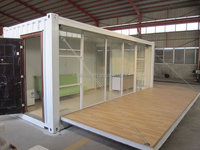 Factroy price china exhibition booth design, Prefab Coffee Kiosk Booth Design,military container sentry box