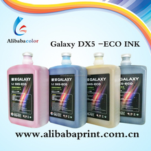 bulk universal Eco Solvent color Ink for DX5 head inkjet printer