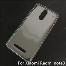 Soft TPU Silicon Transparent Clear case for Redmi note 3