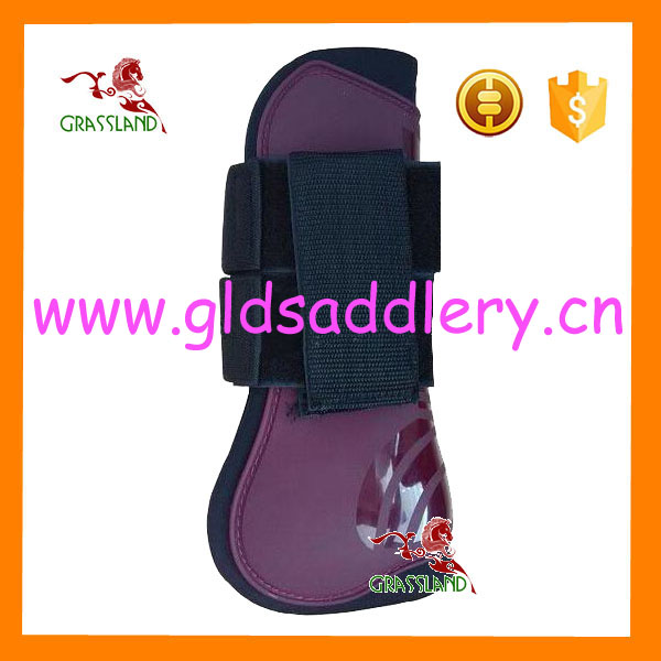 Plastic outer Protective Tendon Boots for horse