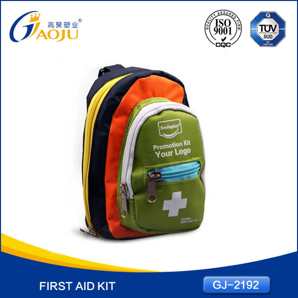 GJ-2192 Hot Selling Oxford Waterproof Material Small Size First Aid Kit Price In India