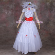 Halloween Mary Poppins Cosplay Dress for Christmas Party