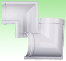 plumbing pvc rainwater gutter and pipe fittings price