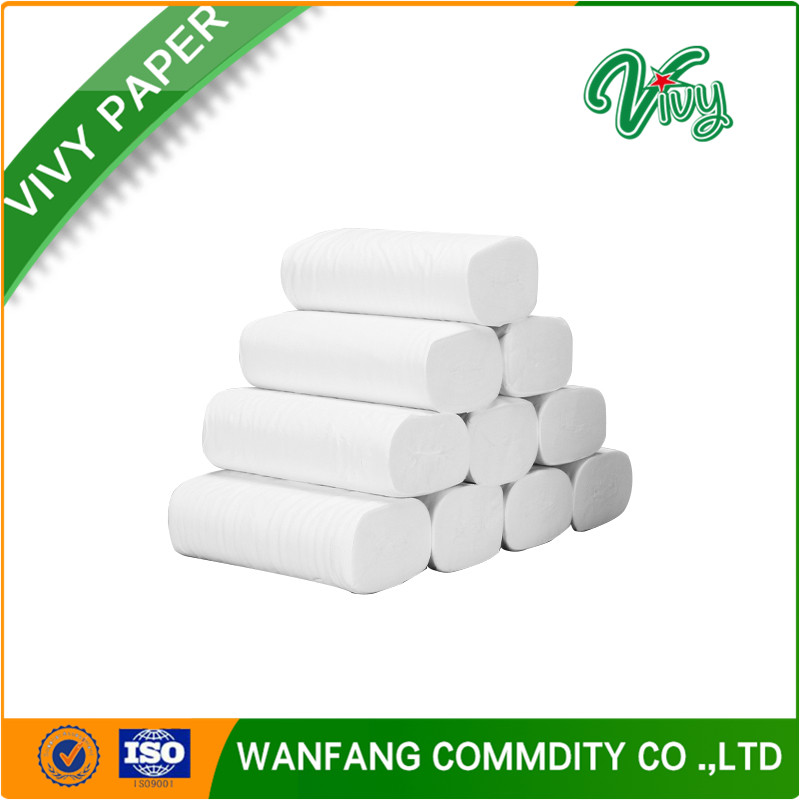 3 ply natural white cheap recycled paper toilet paper