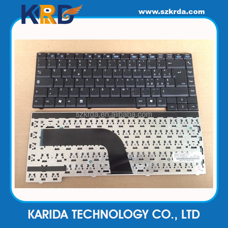 Wholesale Notebook Keyboard for Asus Z94 A9 A9T X51 X51L Z9400 X58 laptop keyboard layout IT US SP