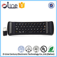 Cost-effective Play micro receiver MINIX A2 wireless keyboard and mouse universal remote control with air mouse