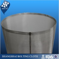 10 micron stainless steel cylindrical filter elements mesh