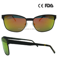 Sports Men Sunglasses Metal Elastic Painting