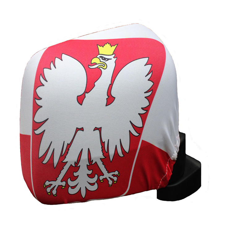 Fancy Design all over the world Car Mirror Cover Flag