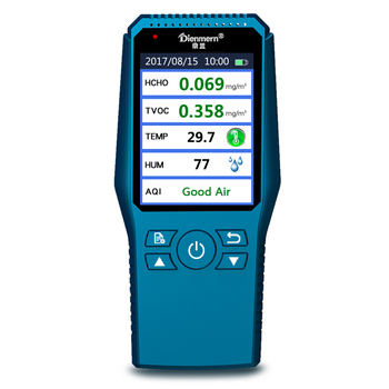 Professional Digital LCD Formaldehyde Detector Air Quality Tester Analyzer HCHO TVOC