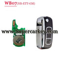 NB07 3 button remote key for KD900 machine for Touareg Bentley Renault Fiat