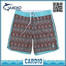 Popular Wholesale polyester surfing board shorts for men running short polyester