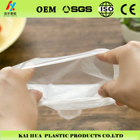 nontoxic material LDPE plastic disposable PE gloves