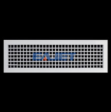 HVAC system air grilles diffusers double deflection supply air grille
