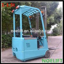 1.5ton mini 3-wheel electric forklift truck ,Min. balance forklift truck in China with AC drive motor with strong applicability