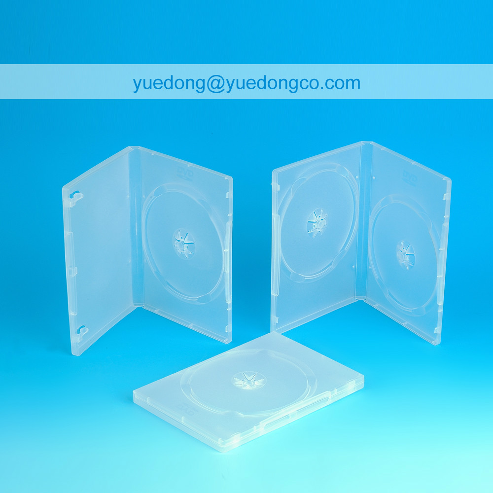 14MM TRANSPARENT DVD CASE/DVD BOX/DVD COVER(YD-024-A)..YDD