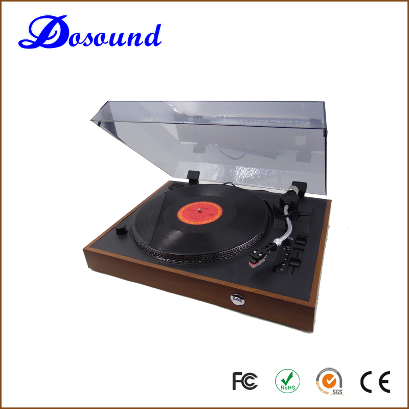 Dosound high sound HiFi record vinyl portable active bluetooth music player