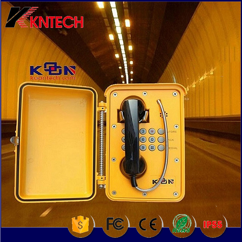 Dust Proof Telephone of IP Network Industrial Intercom Telephone, Waterproof Tunnel Telephone
