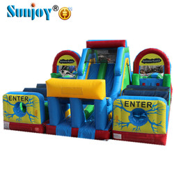 North America NO.1 Hot Sale Commercial Grade Best Price Adrenaline Rush Extreme Inflatable Obstacle Course Suppliers