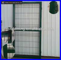 PVC coated Galvanized iron fence gate/wire mesh fence doors (factory/China)
