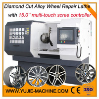 3rd Generation alloy wheel repairing lathe AWR 3050 MADE IN CHINA Only 1 hour training