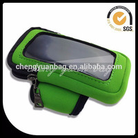 Factory Price Cellphone Arm Bag, Mobile Phone Wrist Pouch For Sports