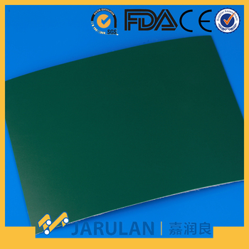 Dark Green High Performance PU Conveyor belt for iron transmission