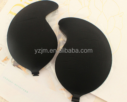 Most Popular Ladies Seamless Self Adhesive Cloth Bra Invisible Breast Push Up Bra And Panty Set