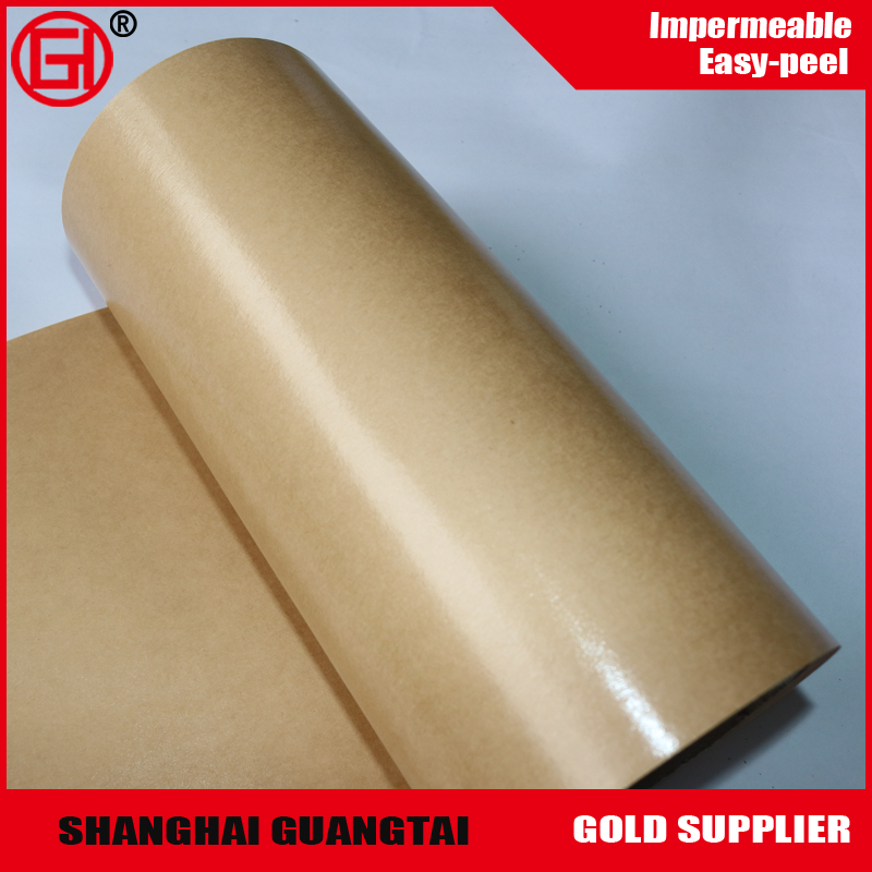 High Glossy silicone coated release paper for Heat Transfer