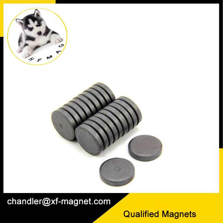 10x1mm C5 Ferrite Disc Magnet For Art and Craft Projects