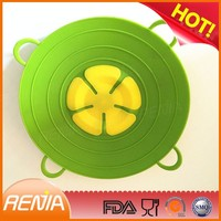RENJIA mug silicone lid silicone pot cover lid silicone lid