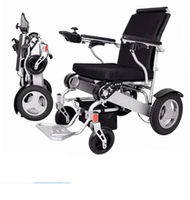 Cheap price electric wheelchair Aluminum Alloy Lightweight Power Wheelchair Electric with 250W Motor