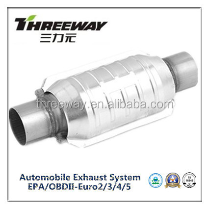 Replacement catalytic converter universal type for US 3.8L engine
