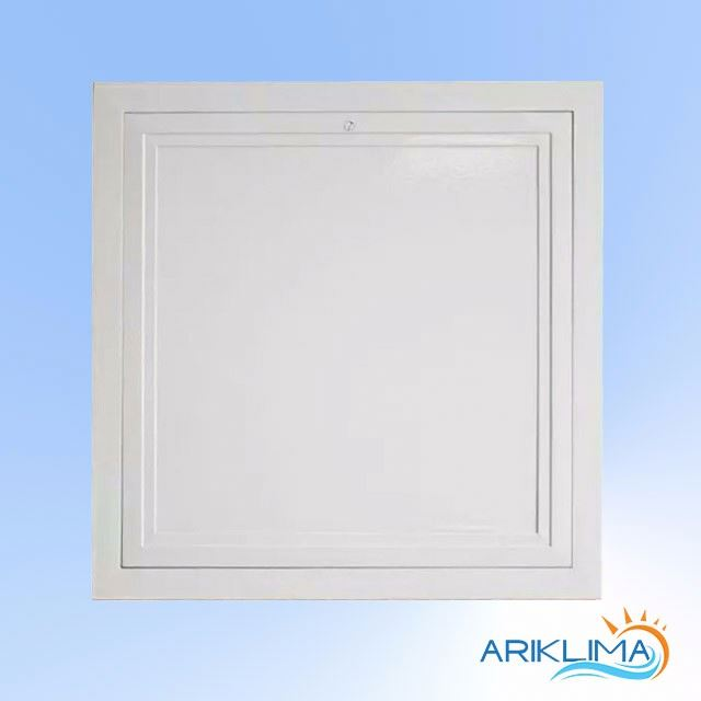 Aluminum made in guangdong aluminum ceiling access door with mini latch for ceiling AC