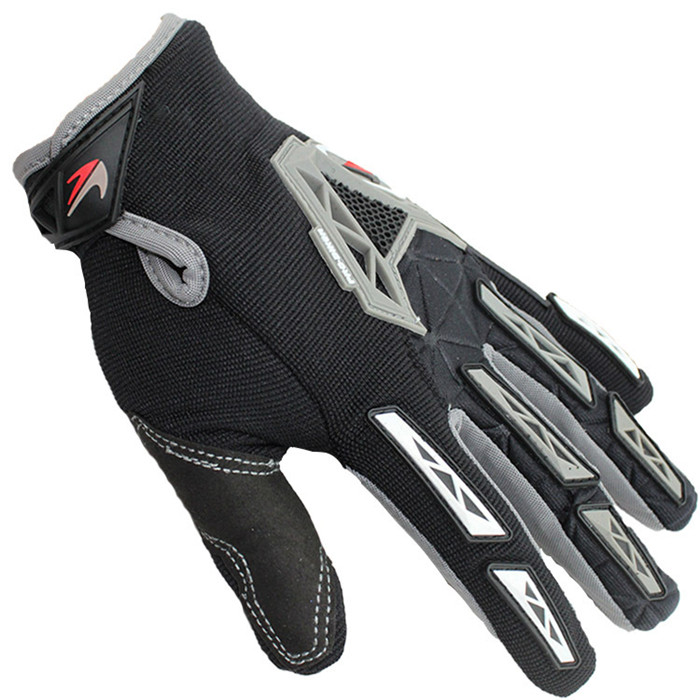 RIGWARL Hot Sale Protection Black Men Custom Mountain Bike Gloves For Racing Accessories
