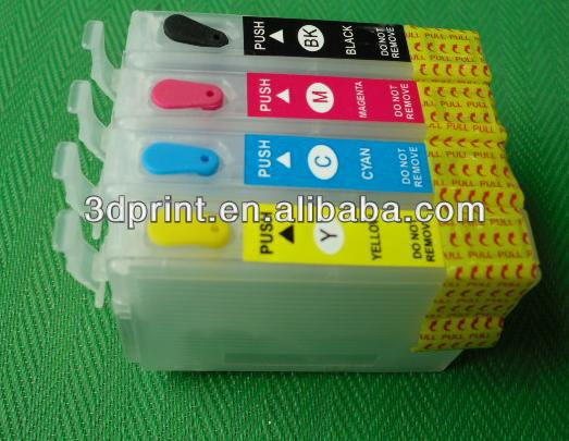 Refillable ink cartridge with auto reset chip for EXPSON S22 T22 T25 TX130 TX135 NX130 NX125