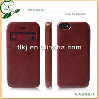 hot preselling leather case for iphone 5C,2014 newest 3d phone case for iphone 4/5/5s/5c top quality factory supply