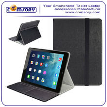 Slim Hard Shell Leather Case Multi-Angle Viewing with Business Card Holder for APPLE iPad Air Paypal Acceptable